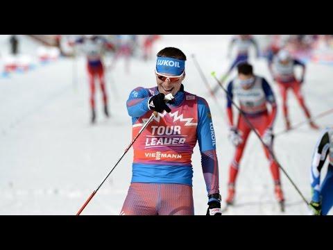 Неудержимый Сергей Устюгов на 1-ом этапе Tour de ski 2017