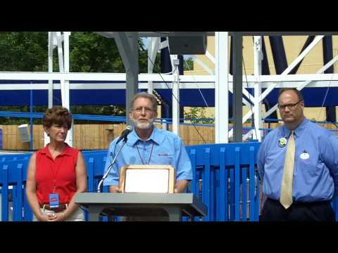 Opening of the Little Dipper Roller Coaster Video