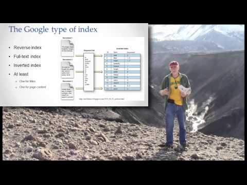 How does the Google index work?