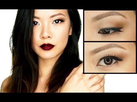 Makeup Tutorial: Rihanna Hearts MAC Fall 2013 Dark Berry Look