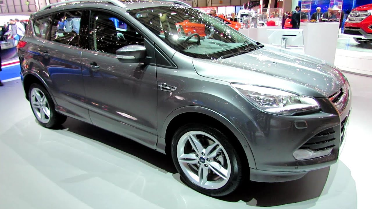2014 ford kuga 4x4 diesel ford escape exterior interior walkaround 2014 geneva motor show. Black Bedroom Furniture Sets. Home Design Ideas