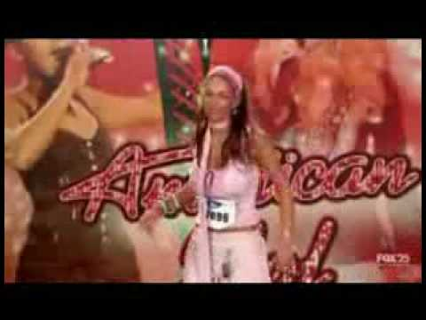 American Idol Audition for Paula Goodspeed   www.RentFree4Life.com