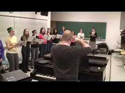 Scenes from a Rehearsal - U of M Singers