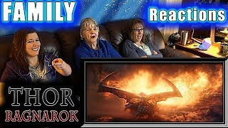 THOR RAGNAROK | FAMILY Reactions | Fair Use