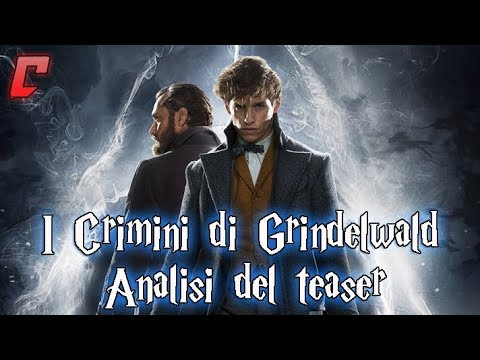 Animali Fantastici - I crimini di Grindelwald Analisi del teaser