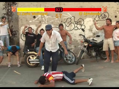 Slip Fighter: Zorro Vs Servimoto