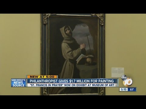 Local philanthropist gives $1.7 million for major painting