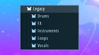 Using ONLY FL STUDIO LEGACY SAMPLES to Make A Beat