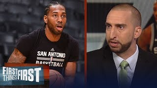 Nick and Cris react to reports Kawhi