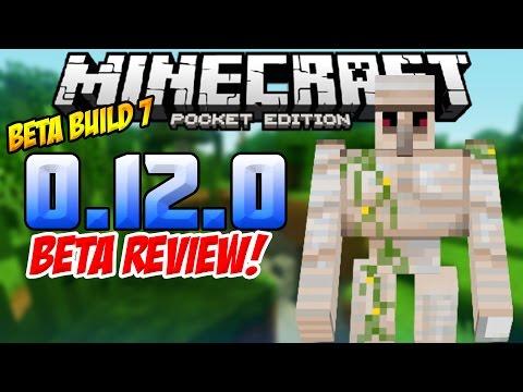 LESS LAG! 60FPS & Bug Fixes!! - 0.12.0 Alpha Build 7 Review! - Minecraft PE (Pocket Edition)