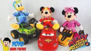 Mainan Disney Mickey Mouse Minnie Mouse dan Donald Duck - Bermain Belajar Warna