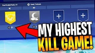 "My Highest Kill Game In Fortnite! ""I Love This Game Mode"""