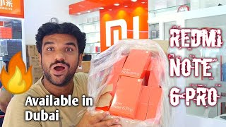 Redmi Note 6 Pro. Not Launched. Available To Buy In Dubai
