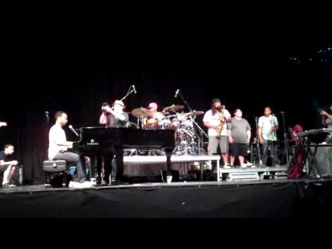 JL And Band Rehearse For Sade Summer Tour, Philadelphia