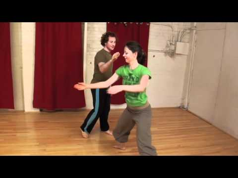 2012 West Coast Contact Improvisation Jam Video Lab
