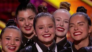 DM Nation: Canadian Girls Dance Group Try To Get Simon's Love  | America's Got Talent 2019