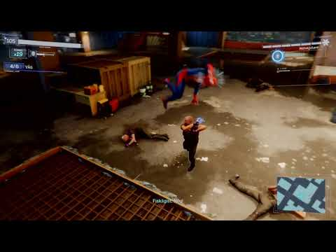 Playing Spider-Man PS4(Fisk hideout)