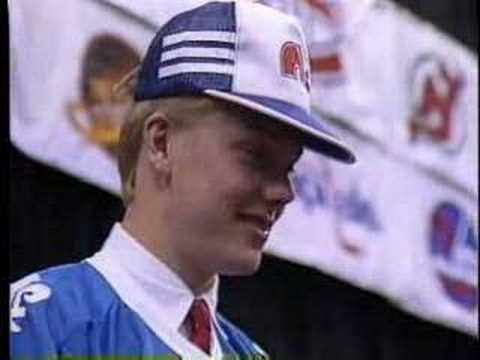 Mats Sundin- 1989 NHL Draft Video