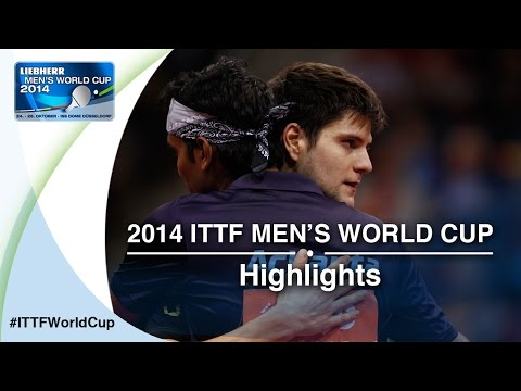 2014 Men's World Cup Highlights: OVTCHAROV Dimitrij vs ACHANTA Sharath Kamal (Quarter Final)