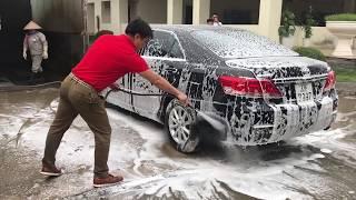 Công nghệ rửa xe mới nhất - Rửa xe không chạm Ekokemika