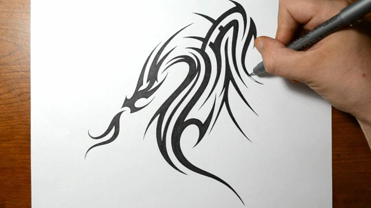 cool tribal patterns to draw