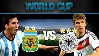 Germany vs Argentina 1 - 0 Highlights FIFA World Cup Final 2014 HD 720p English Commentary