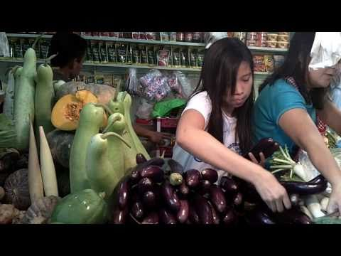 vegetable & fruit market @Philippines