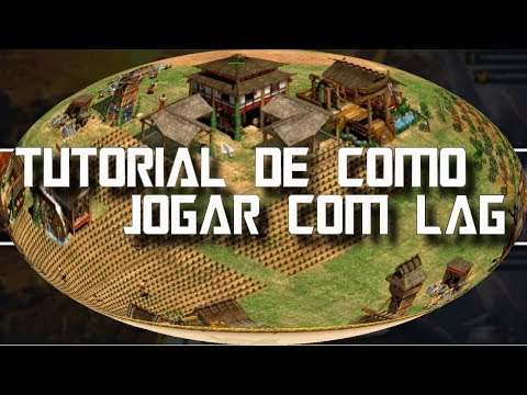 Age of Empires 2 HD Tutorial Jogando com Lag AoE2HD Gameplay PT BR