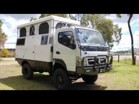 Earthcruiser overland rv expedition vehicle youtube for Mercedes benz recreational vehicles