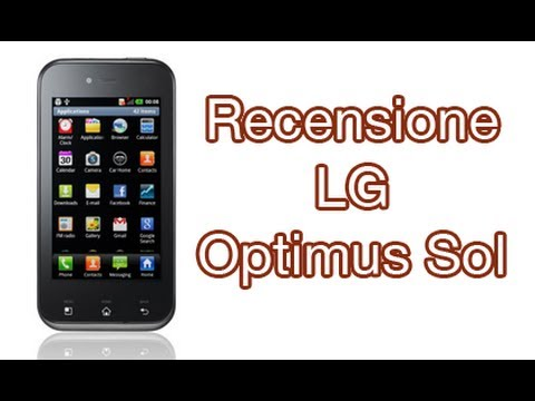 LG Optimus Sol. recensione completa in italiano by AndroidWorld.it