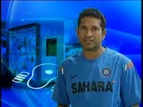 Sachin Tendulkar on Right to Water Sanitation and Hygiene