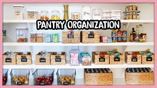 PANTRY GOALS! Shop & Organize With Me!