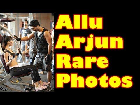 Allu Arjun RARE and UNSEEN Pictures | Allu Arjun FAMILY Pics | Celebrity Images | Film Updates