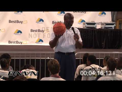 Earvin Magic Johnson Jr., video of talk to children about business Part 4 of 4