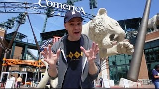 BANNED FROM COMERICA PARK FOR STREAKING!!
