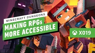 Minecraft Dungeons is Aiming to Make Another Genre More Accessible - IGN Live | X019
