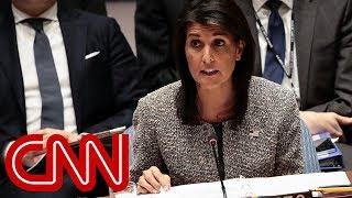 Nikki Haley explains  President Trump's Jerusalem move