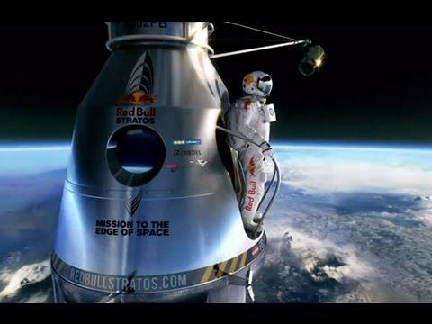 Felix Baumgartner Sets World Record Skydive