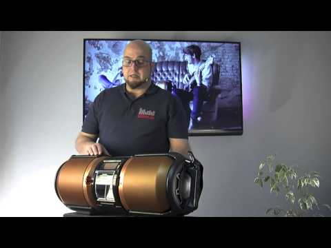 VideoReview: Sharp BoomBox GX-M10