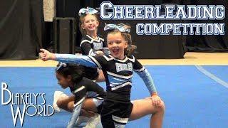 Cheerleading Competition | Blakely Bjerken