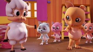 Drei kleine Kätzchen | Kinderrreim | Song For Kids | Nursery Rhyme | Three Little Kittens