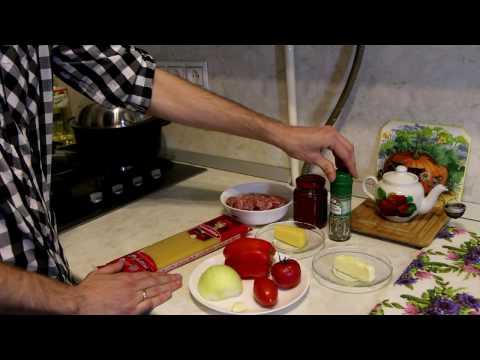"""Простой и вкусный рецепт """"Спагетти с томатно-мясным соусом"""""""