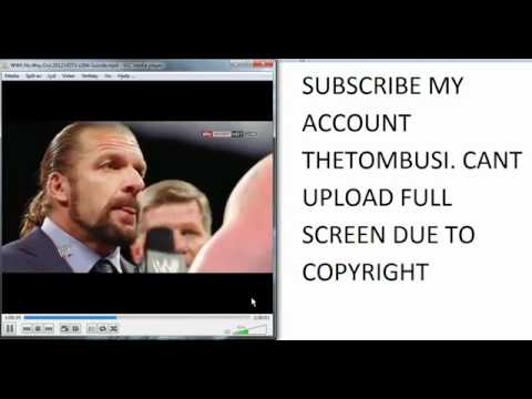 WWE No Way Out 2012 Full Show (HD)