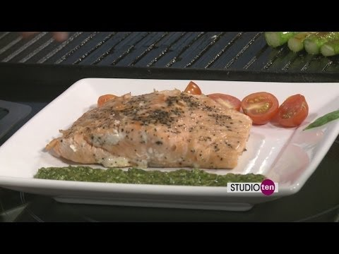 Studio 10: Salmon Pesto