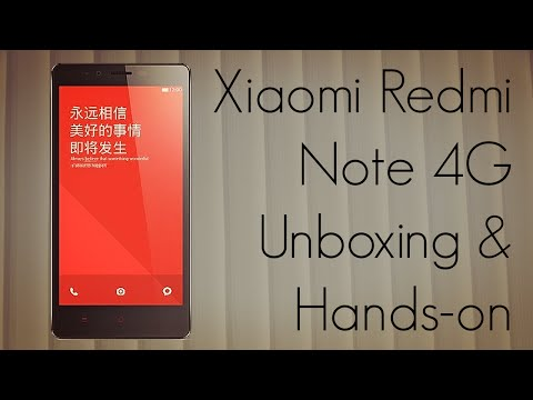 Xiaomi Redmi Note 4G Unboxing & Hands On (Indian Unit)