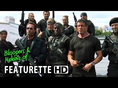 The Expendables 3 (2014) Featurette - Action on Set