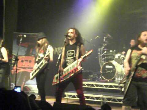 Alestorm - Intro&Sunk'n Norwegian @Wolves Civic Hall 30/9/12