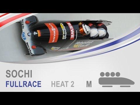 Sochi | 4-Man Bobsleigh Heat 2 World Cup Tour 2014/2015 | IBSF Official