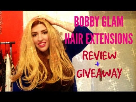 Bobby Glam Hair Extensions + Κερδίστε ένα σετ τρέσες!