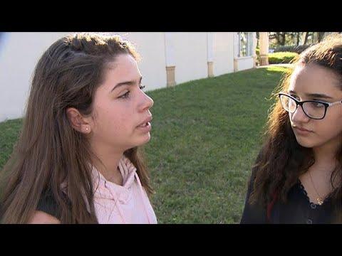 Students describe Florida school shooting
